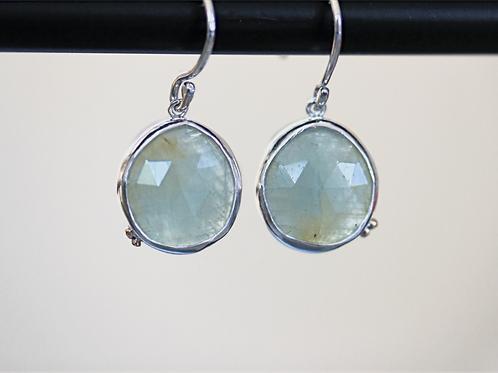 Grains Yellow Sapphire Earrings