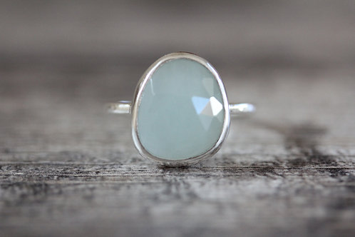 Sea Aquamarine Ring