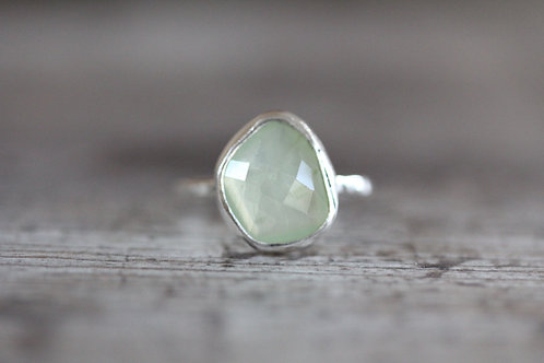 Sea Prehnite Ring