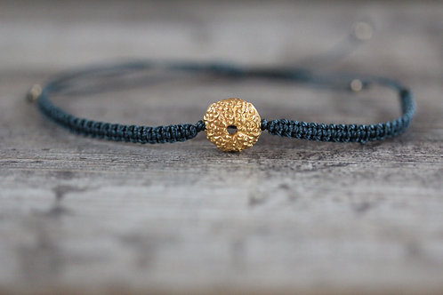 Sea Urchin Bracelet in Sea Green