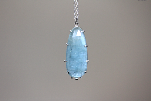 Embrace Aquamarine Pendant