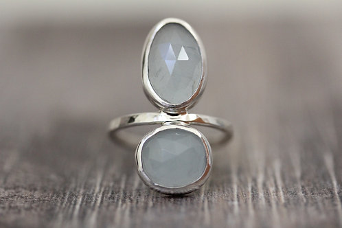 Reflections Aquamarine Ring