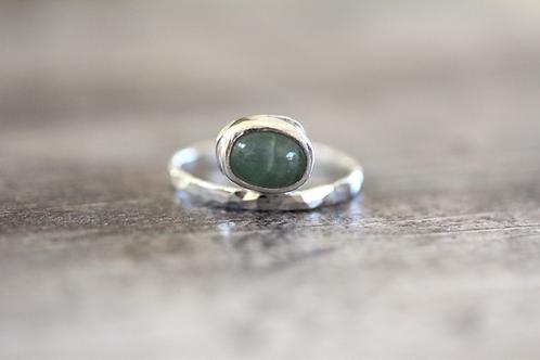 Balance Aquamarine Ring