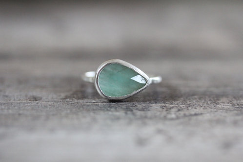 Sea Emerald Ring