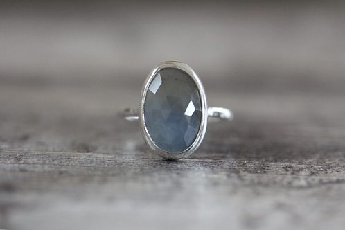 Sea Sapphire Ring in Blue