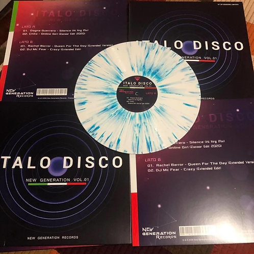 Various - Italo Disco - New Generation  vol 1 - multicolor vinyl