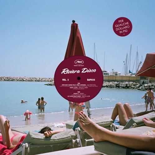 "Various - Riviera Disco Vol 3 12"" vinyl"