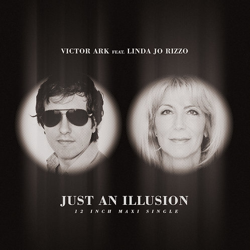 """Victor Ark featuring Linda Jo Rizzo - Just An Illusion - 12""""Pink vinyl"""