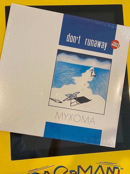 "Myxoma - Dont Run Away - 12"" black vinyl"