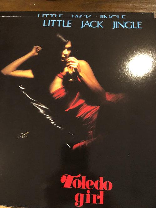 """Little Jack Jingle - Toledo Girl - 12"""" red vinyl"""