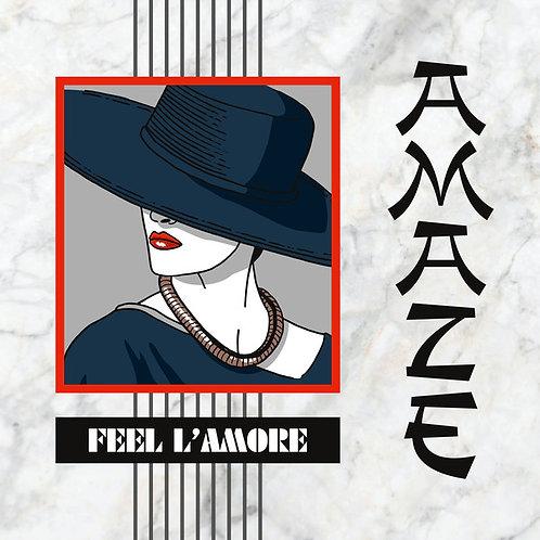 "Amaze - Feel L'Amore - 12"" white vinyl"