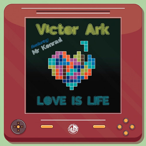 "Victor Ark feat. Mr Konrad -12 "" Red vinyl"