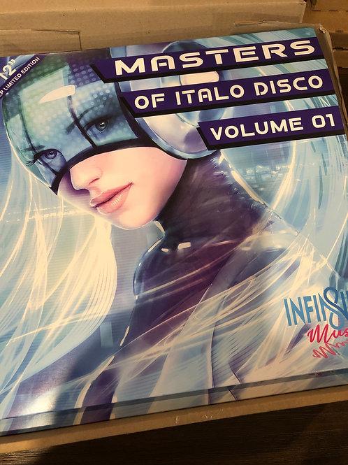 Various - Masters of Italo Disco ep mint green vinyl