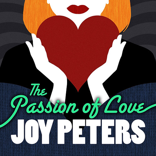 "Joy Peters - The Passion Of Love 12"" white vinyl. Limited edition"
