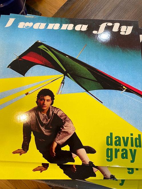 """David Gray - I Wanna Fly - 12"""" black vinyl"""
