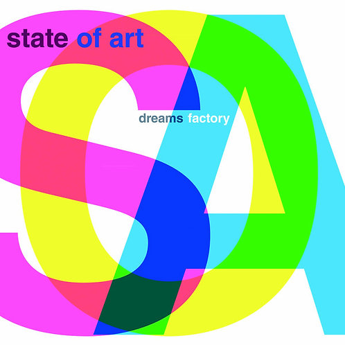 State Of Art – Dreams Factory (Clear Vinyl)