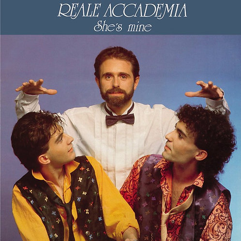 "Reale Accademia – She's Mine 12"" Black vinyl"