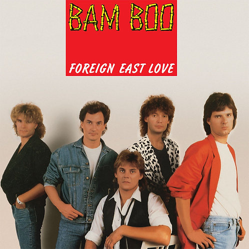 "Bam Boo - Foreign East Love - 12"" Red vinyl"