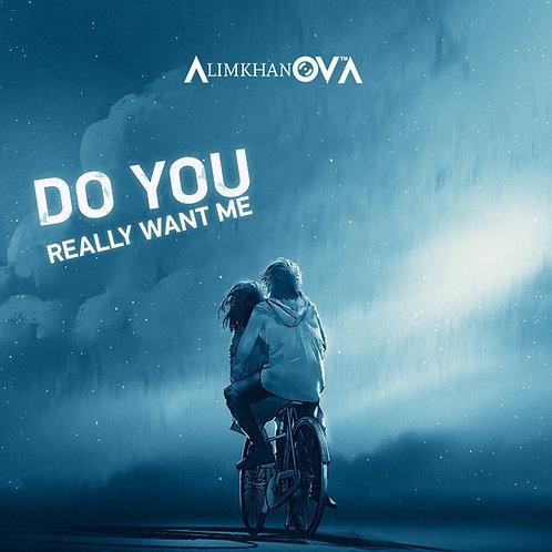 "AlimkhanOVA - Do You Really Want Me - 12"" blue vinyl"