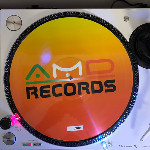 AMD Picture disc - individual numbered from 1 to 100 copies only