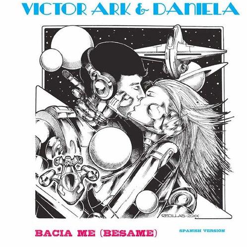 "Victor Ark & Daniela - Bacia Me - 12"" marble blue"