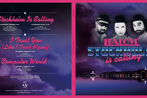 "Italove- Stockholm Is Calling - 12"" Purple vinyl"