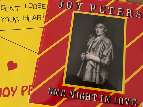 Joy Peters - Don't Loose Your Heart Tonight/one night in love