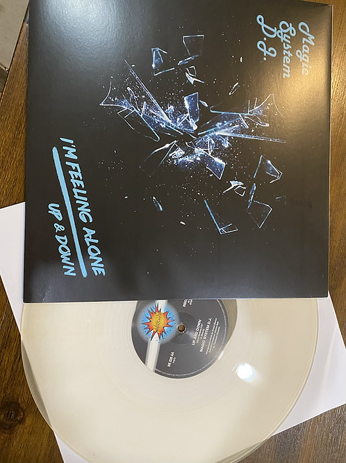 "Magic System DJ - I'm Feeling Alone - 12"" clear"