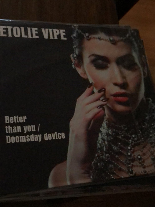 "Etoile Vice - Better Than You - 12"" white clear vinyl"