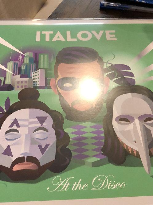 """Italove - At The Disco - 12"""" silver vinyl"""