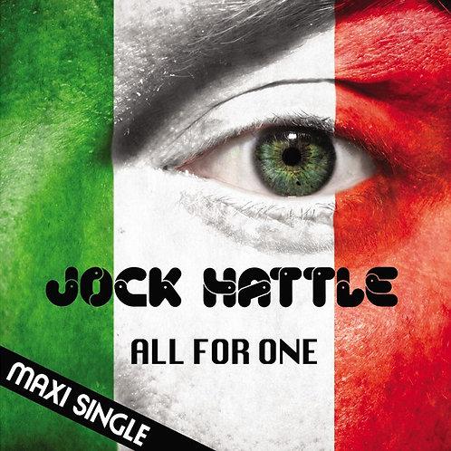 """Jock Hattle - All For One 12"""" Black vinyl"""