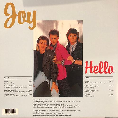 Joy - Hello - LP Black vinyl