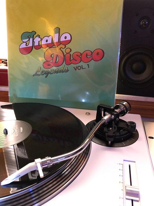 """Various - Italo Disco Legends Vol 1 - 12"""" black vinyl"""