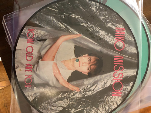 Miki Mission - How Old Are You picture disc
