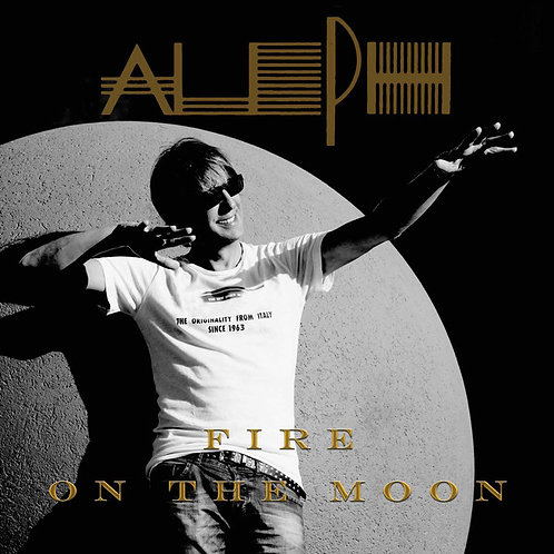 "Aleph - Fire On The Moon -12"" Black vinyl"