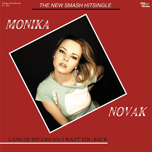 "Monika Novak - Lane Of My Life 12"" vinyl"