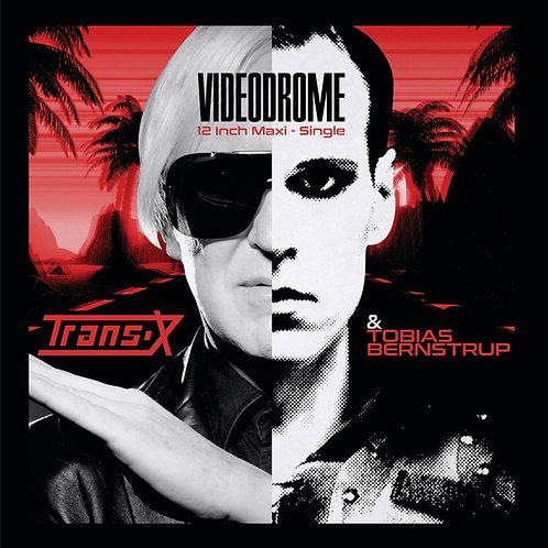 "Trans-X & Tobias Bernstrup - Videodrome - 12"" Clear vinyl. Limited to 150 copies"