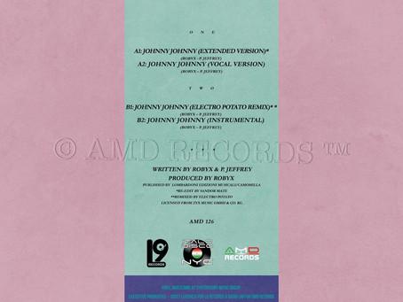 """AMD 126 - Lala - Johnny Johnny - 12"""" yellow vinyl"""