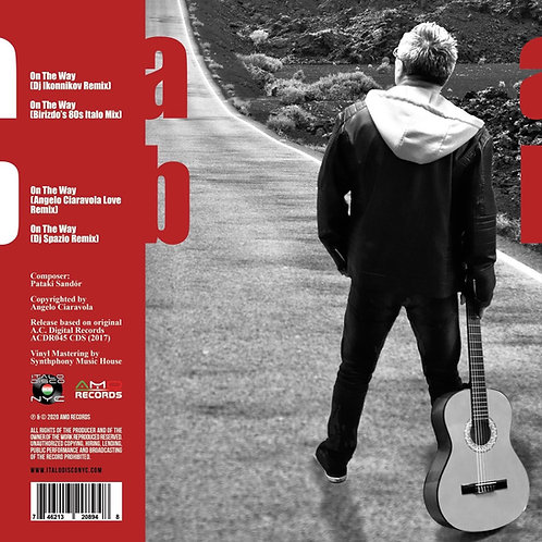 "Sunnyboy vs Cafe City - On The Way - 12"" red vinyl"