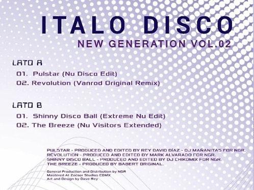 "Various - Italo Disco New Generation Vol 2 - 12"" purple / white"