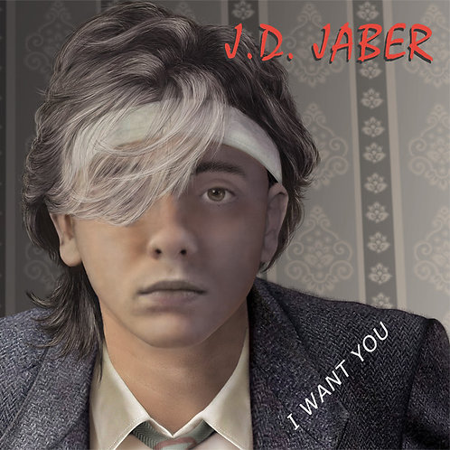"J.D. Jaber - I Want You - 12"" Red vinyl"