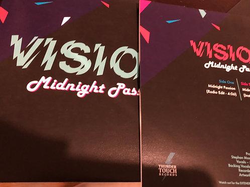 """Vision - Midnight Passion - 7"""" black vinyl"""