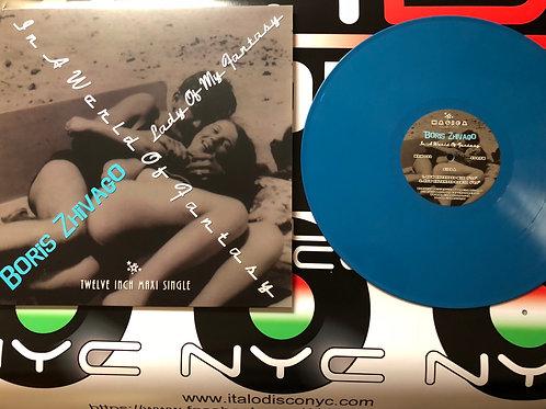 """Boris Zhivago - In A World Of Fantasy - 12"""" dark blue . 100 only"""