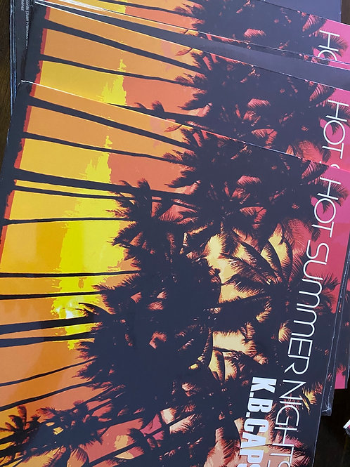 "KB Caps - Hot Summer Nights - 12""  orange vinyl"
