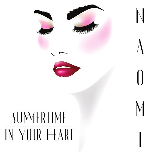 """Naomi - Summertime In Your Heart - 12"""" Bone White . 100 copies only!!"""