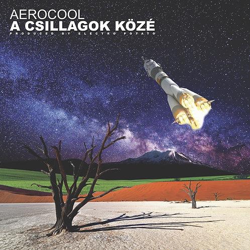 "Aero Cool & Music Lady - A Csillagok Közé - 12"" cream green"