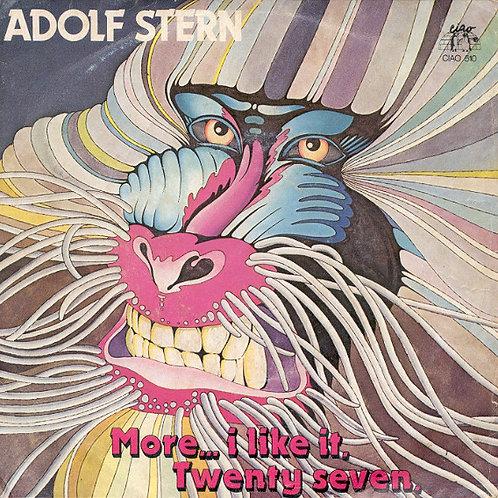 "Adolf Stern – More... I Like It / Twenty Seven 12"" Black vinyl"