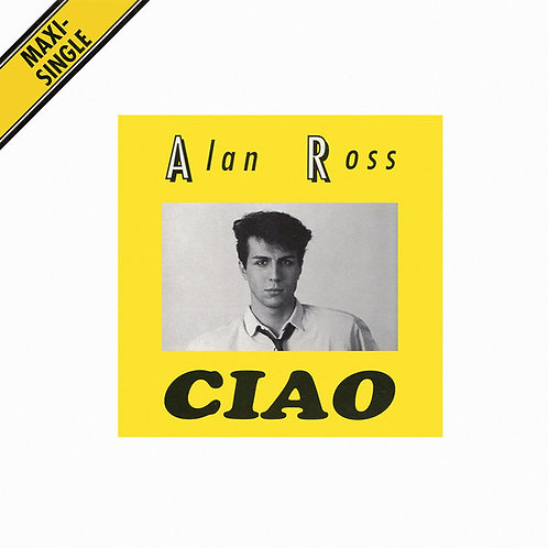 "Alan Ross - Ciao - 12"" Yellow vinyl"