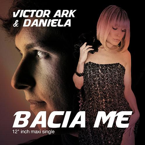 """Victor Ark & Daniela - Bacia Me - 12"""" Gold & white"""