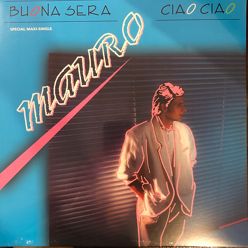"Mauro - Buona Sera - Ciao Ciao - 12"" Black vinyl"
